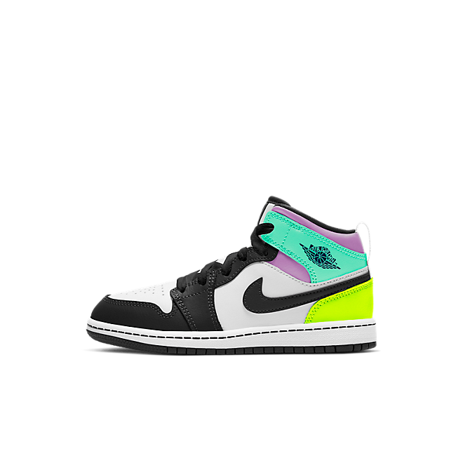 Jordan 1 Mid Pastel Black Toe (PS)