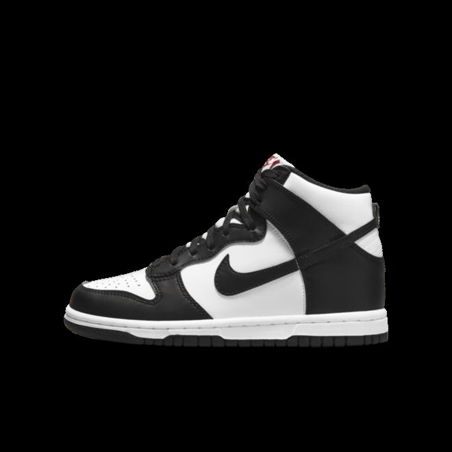Nike Dunk High GS 'Black/White'