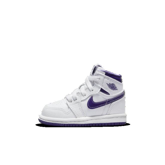 Air Jordan 1 High TD 'Court Purple'