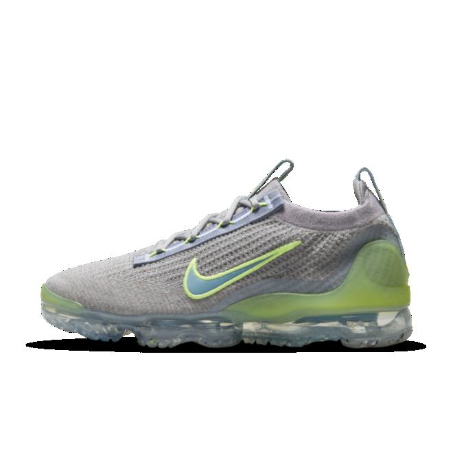 Nike Air VaporMax 2021 FK 'Liquid Lime' zijaanzicht