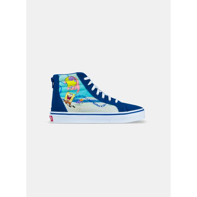 Vans Sk8-Hi Zip Spongebob Best Buddies 4 Life GS