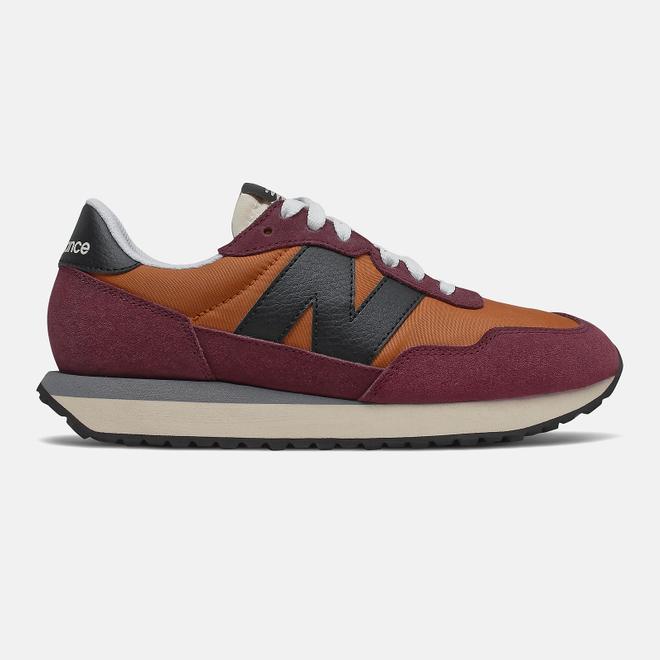 New Balance 237 - Vintage Orange with NB Burgundy
