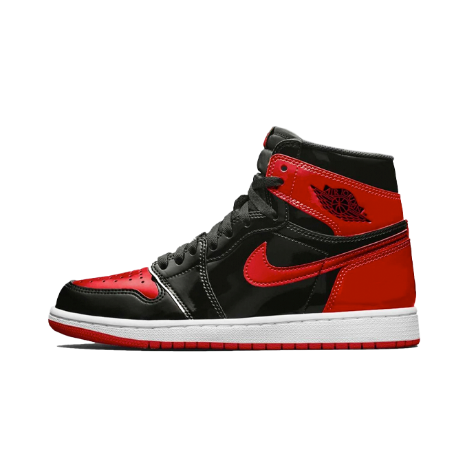 Air Jordan 1 High OG Patent 'Bred'