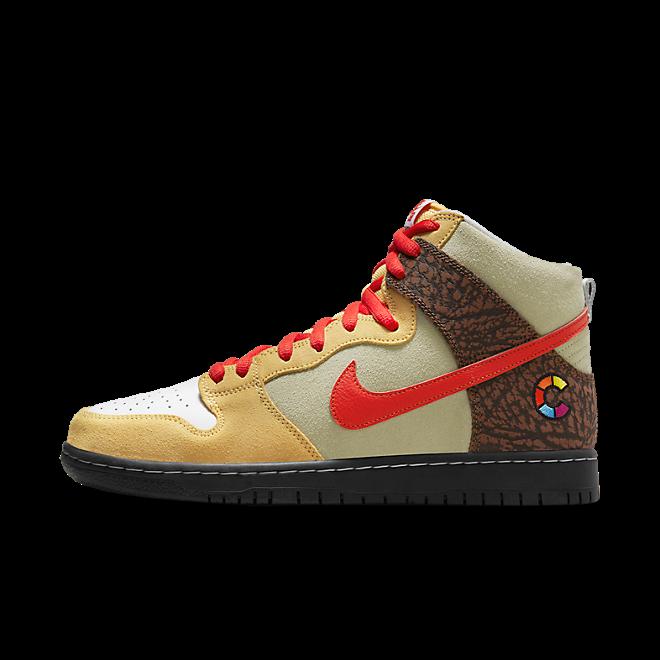 Color Skates X Nike SB Dunk High 'Kebab and Destroy' CZ2205-700