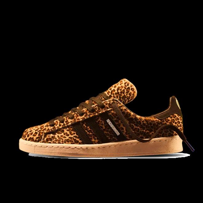 End X Neighborhood X adidas Campus 'Leopard'