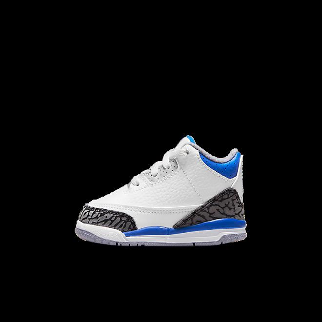 Air Jordan 3 Retro TD 'Racer Blue; zijaanzicht