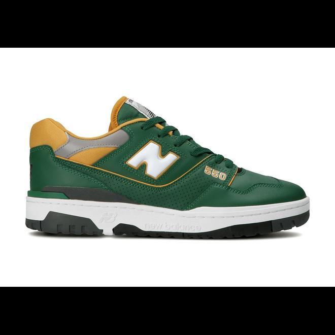 New Balance 550 Dark Green Gold