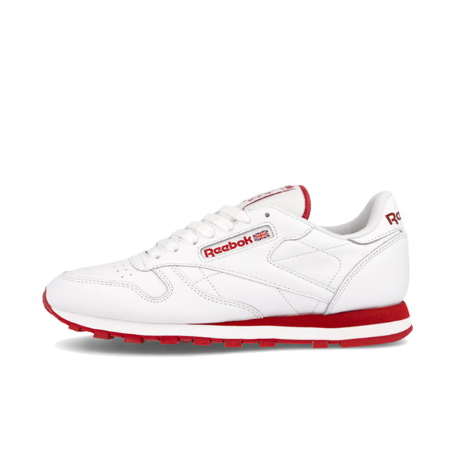 Reebok Classic Leather 'White/Flash Red'