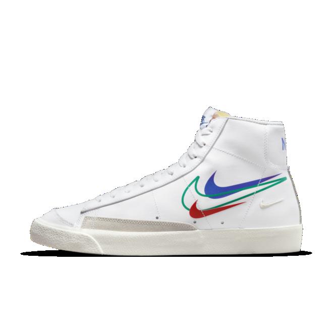 Nike Blazer Mid 77 'Summer of Sports' -Green Swoosh DN7996-101