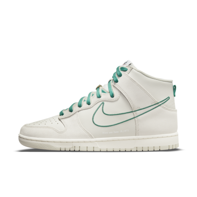 Nike Dunk High 'First Use' - Green Noise