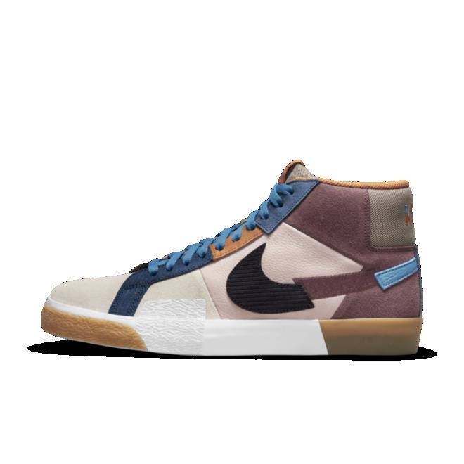 Nike SB Blazer Mosaic 'Brown'