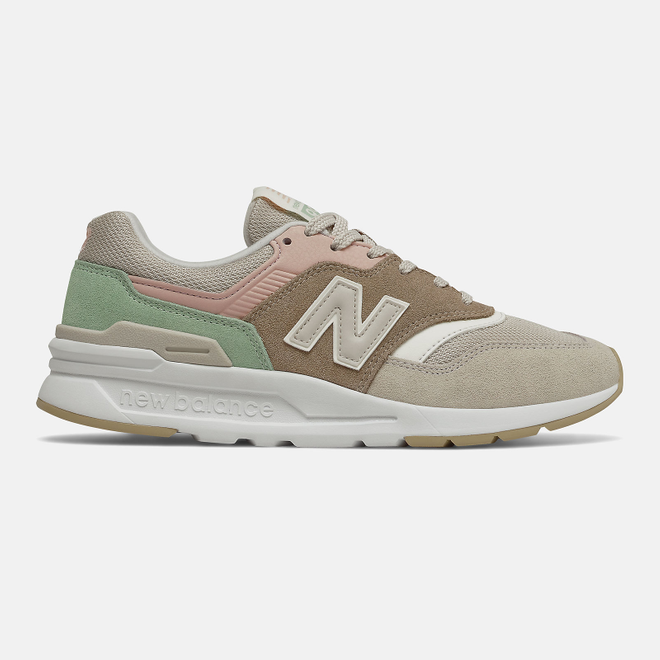 New Balance CW997HV1 - Tan with Pink