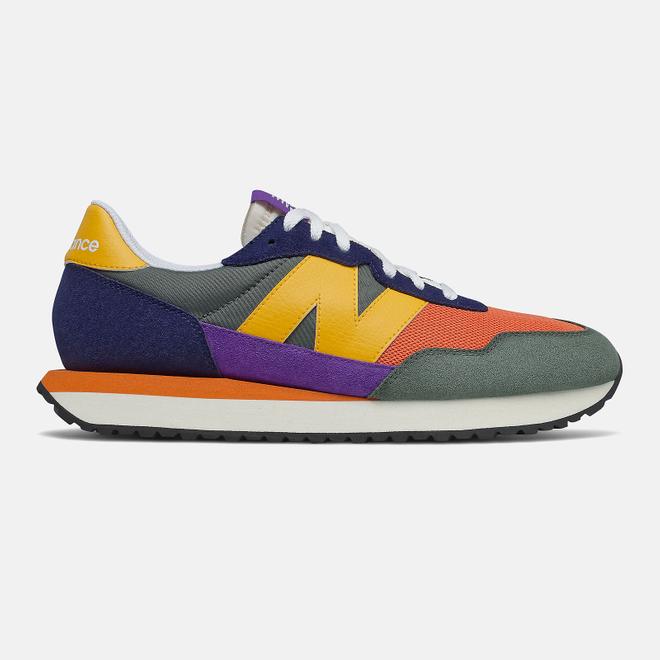 New Balance 237 - Pigment with Varsity Orange