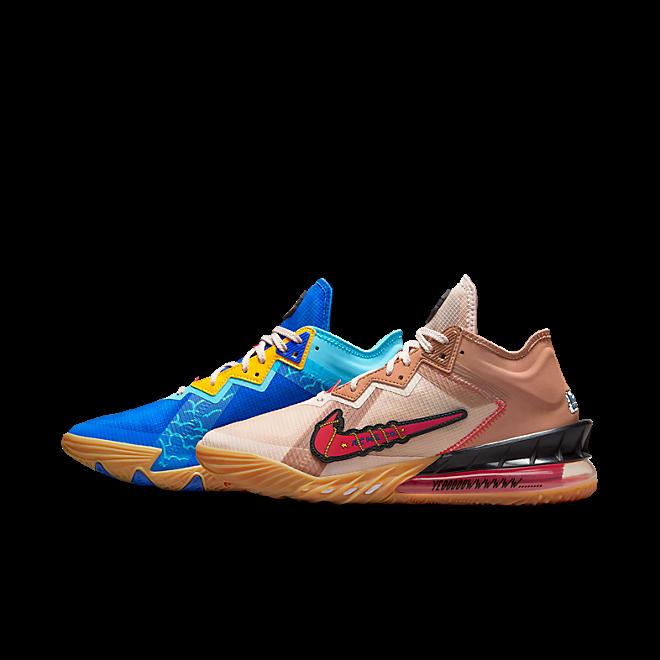 Nike Lebron 18 Low Wile E. vs Roadrunner Space Jam