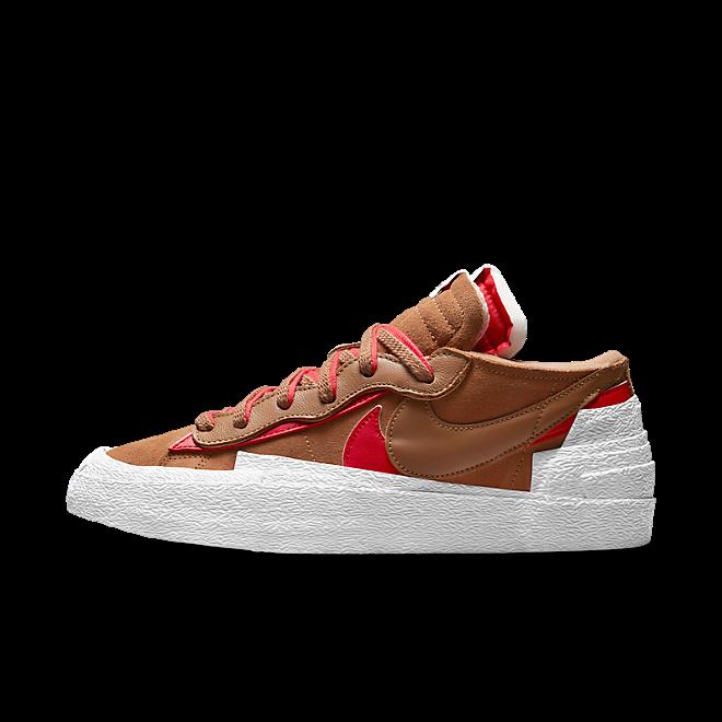 Sacai X Nike Blazer Low 'British Tan'