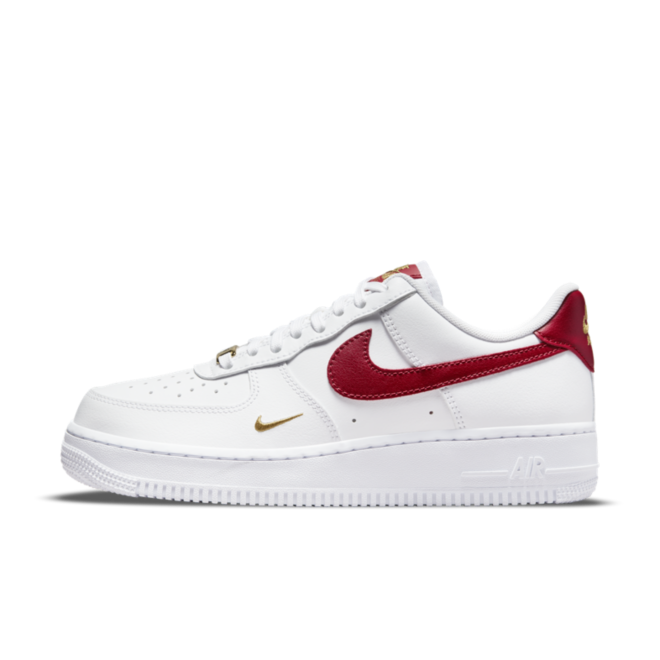 Nike Air Force 1 '07 Essential 'Red Swoosh'
