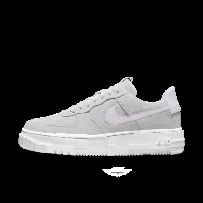 Nike Air Force 1 Pixel 'Grey' zijaanzicht