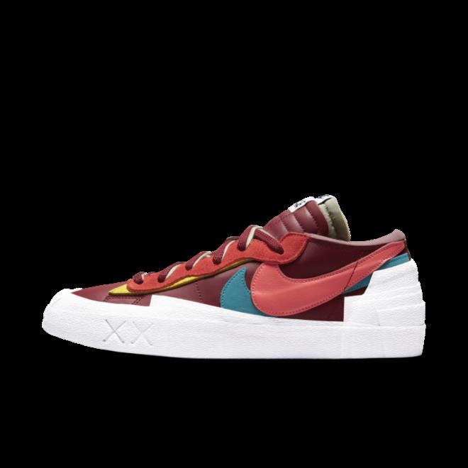 Kaws X Sacai X Nike Blazer Low 'Red'