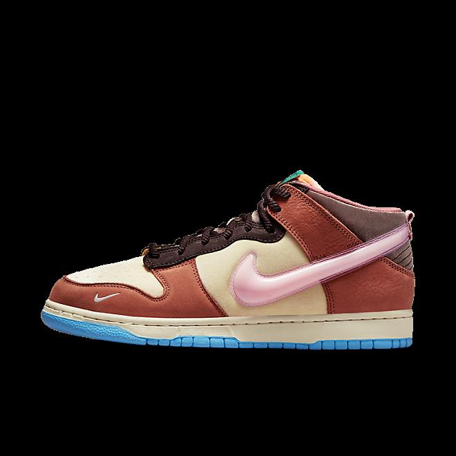Social Status X Nike Dunk Mid 'Chocolate Milk' DJ1173-700