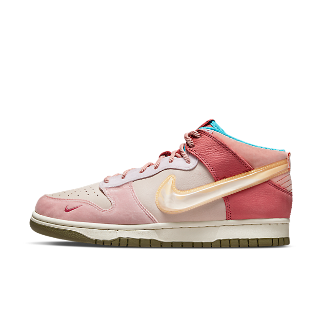 Social Status X Nike Dunk Mid 'Strawberry Milk'