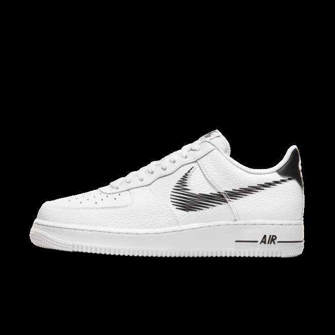 Nike Air Force 1 Low Zig-Zag 'White' zijaanzicht