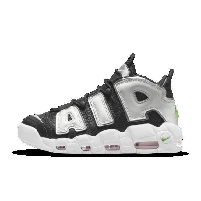 Nike Air More Uptempo 'Black/Silver' DN8008-001