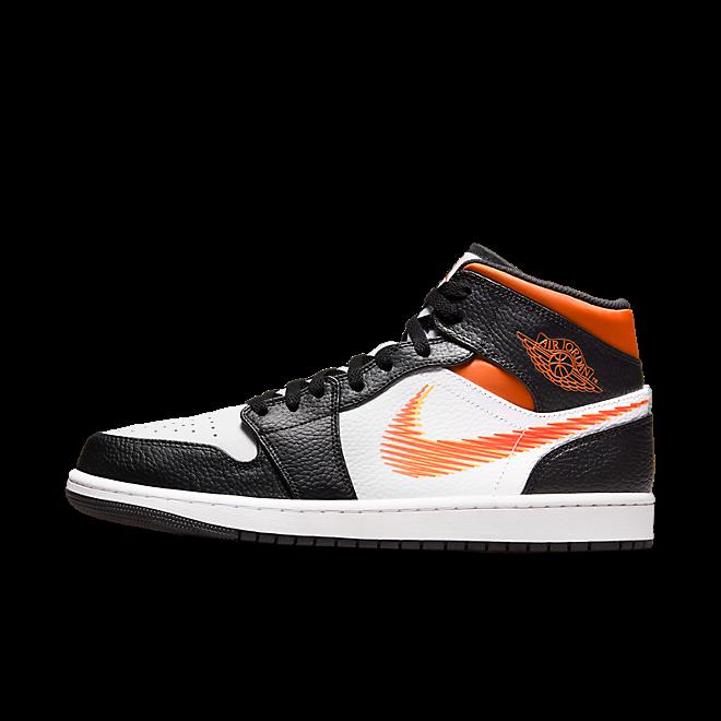 Air Jordan 1 Mid Zig-Zag 'Team Orange'