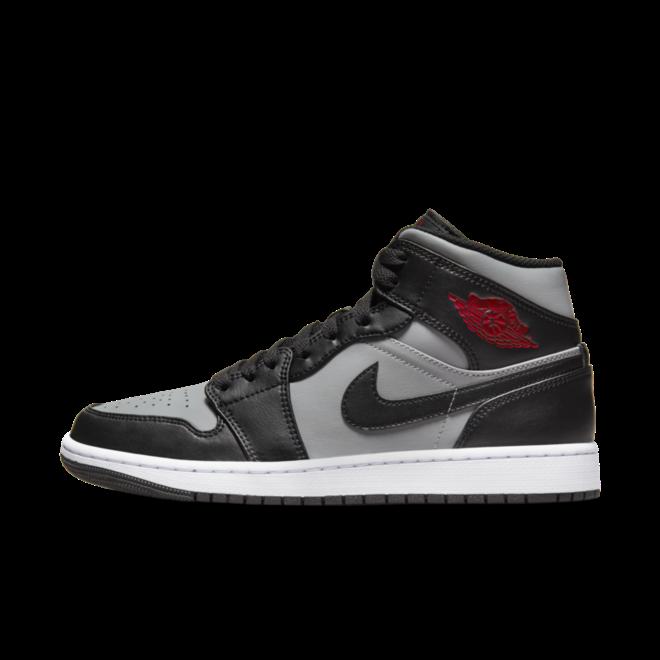 Air Jordan 1 Mid 'Grey/Black'