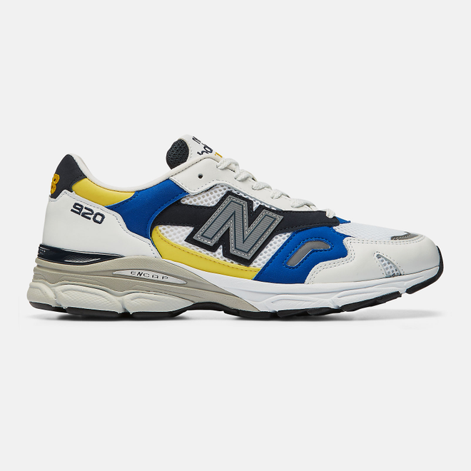 New Balance MADE IN UK 920 - White with Navy M920SB