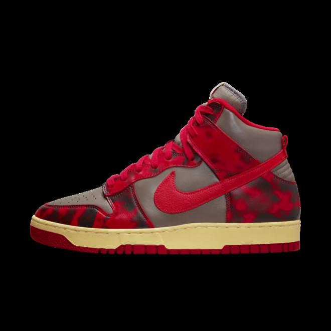 Nike Dunk High 85 SP 'Acid Wash' - Red DD9404-600