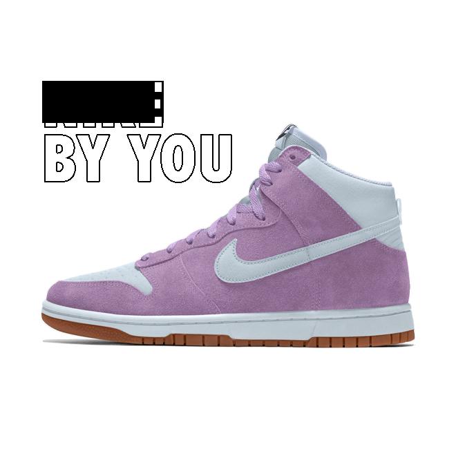 Nike Dunk High By You Custom