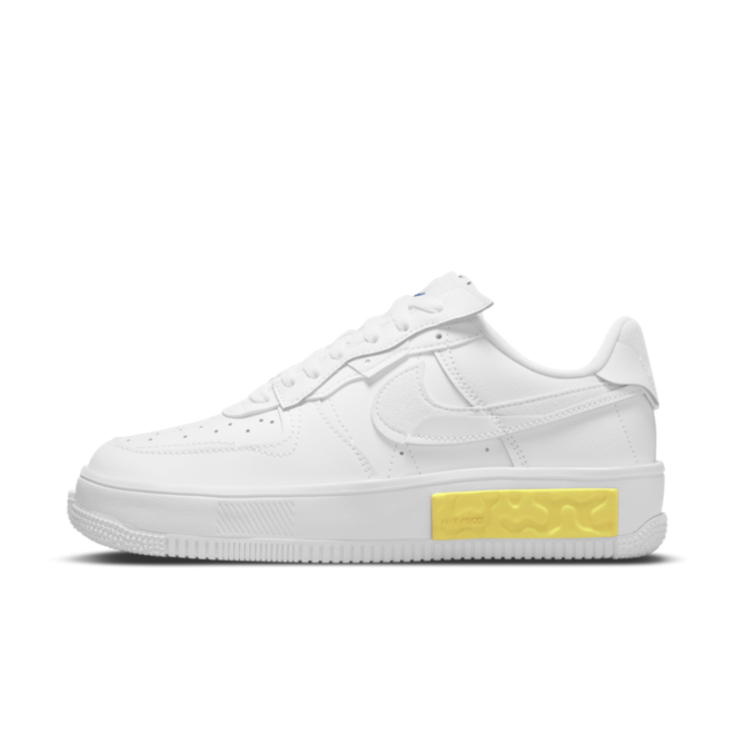 Nike WMNS Air Force 1 Fontanka 'White' zijaanzicht