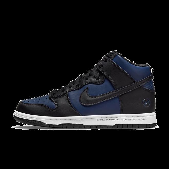 Fragment Design X Nike Dunk High 'New York' - 2021 DJ0382-400