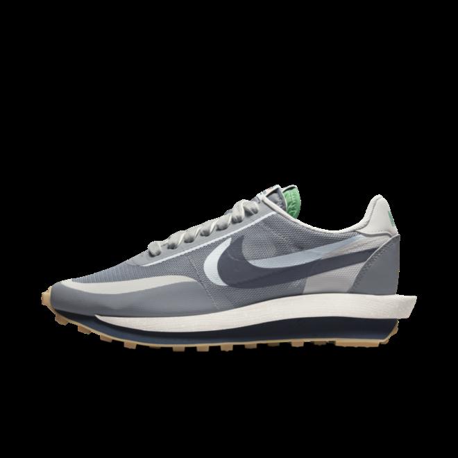 CLOT x Sacai x Nike LDWaffle 'Cool Grey'