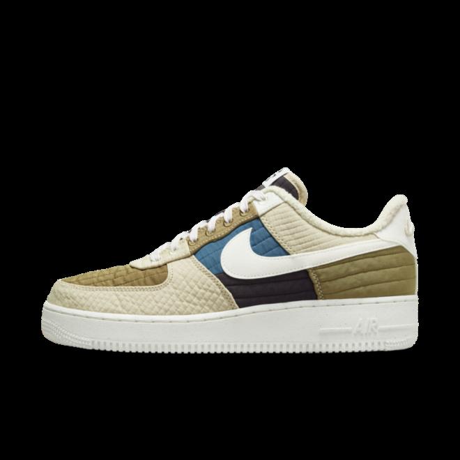 Nike Air Force 1 'Brown Kelp' - Toasty Pack zijaanzicht