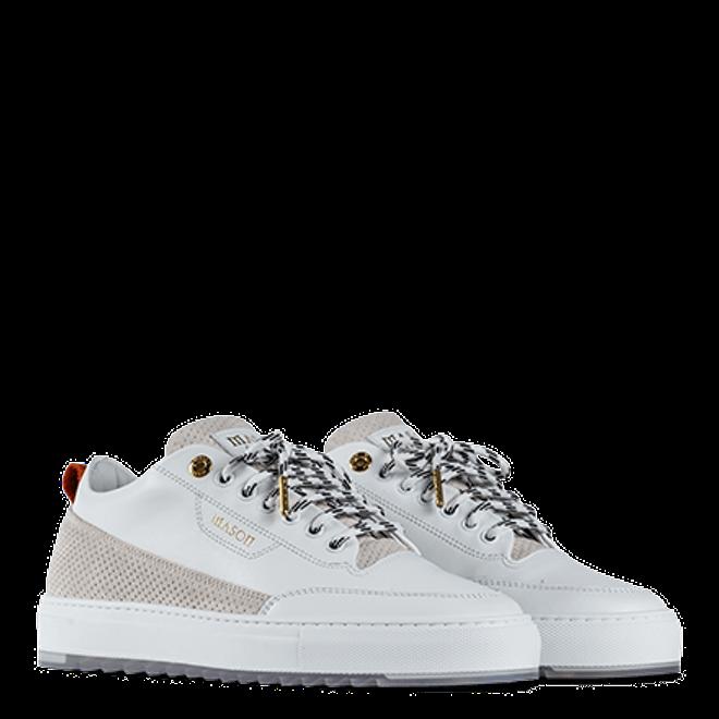 Mason Garments Torino - Perforato - White-45