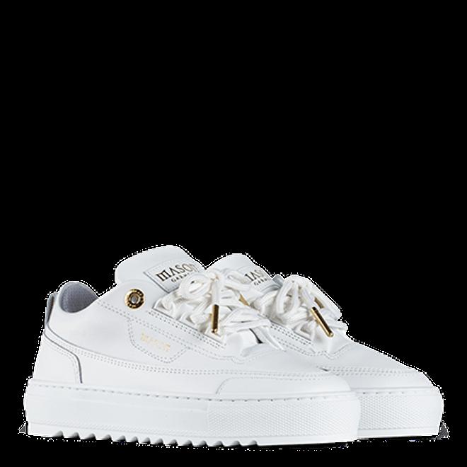 Mason Garments Kids - Firenze Leather White-27