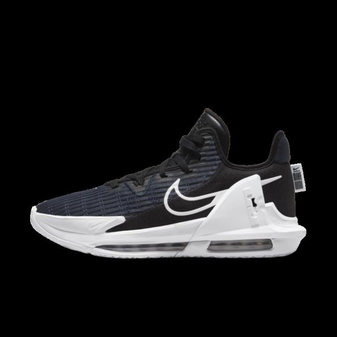 Nike LeBron Witness 6 'Black Navy' zijaanzicht
