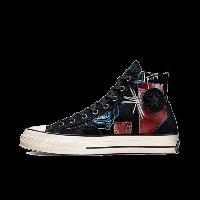 Basquiat X Converse Chuck High 'Black' 172585C