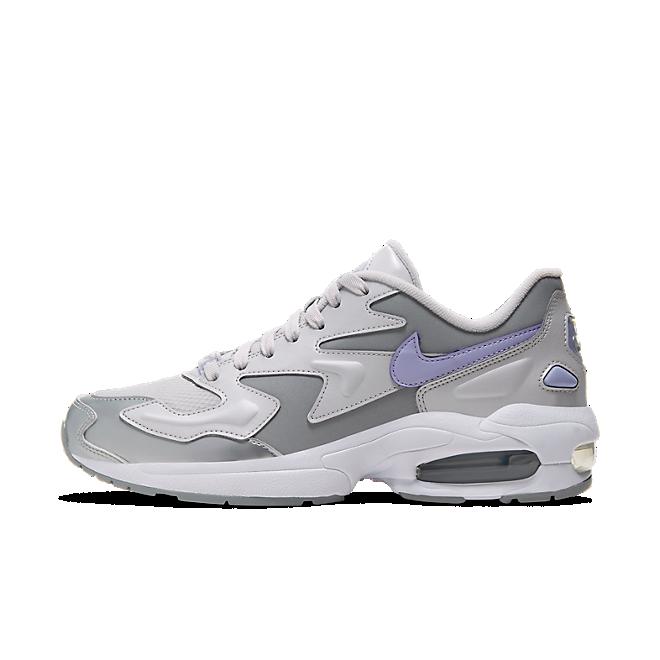 Womens Nike Air Max 2 Light SE 'Vast Grey Purple Agate' WMNS
