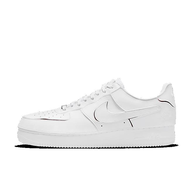 Nike Air Force 1/1 'White Varsity Red' White/Varsity Red/Black/White