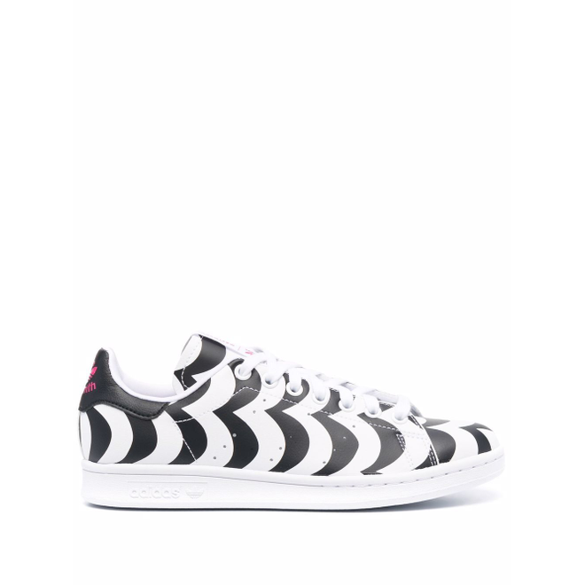 adidas scallop-print low-top