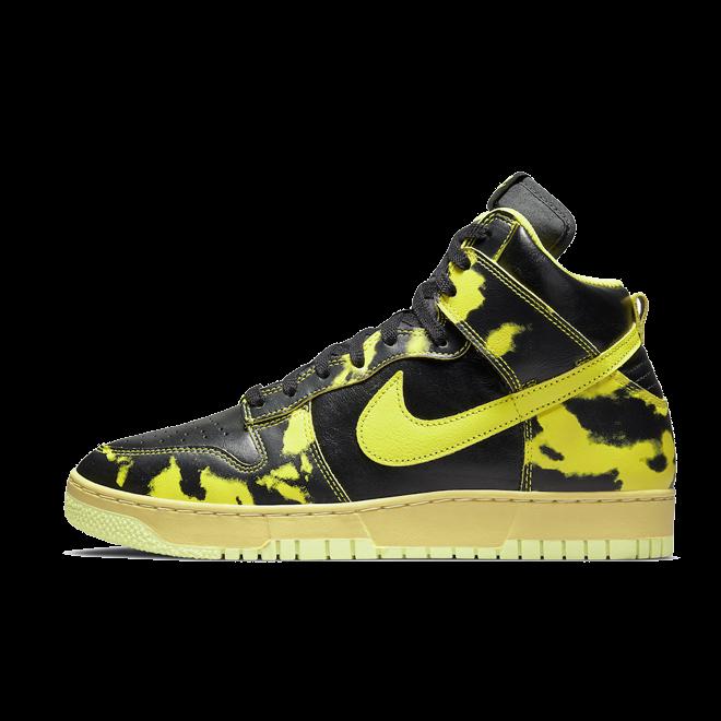 Nike Dunk High 'Acid Wash' - Yellow