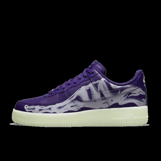 Nike Air Force 1 Low 'Skeleton' - Court Purple