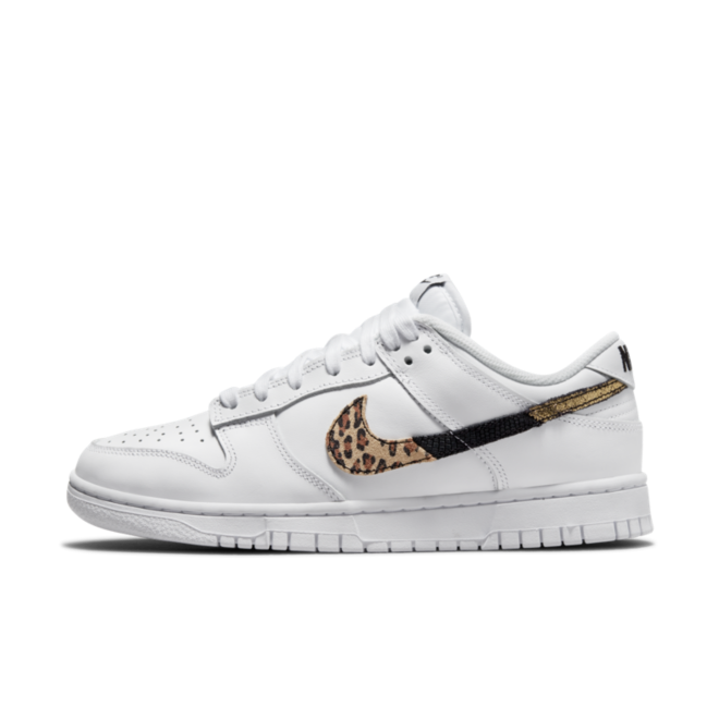 Nike WMNS Dunk Low SE 'White' - Animal Swoosh