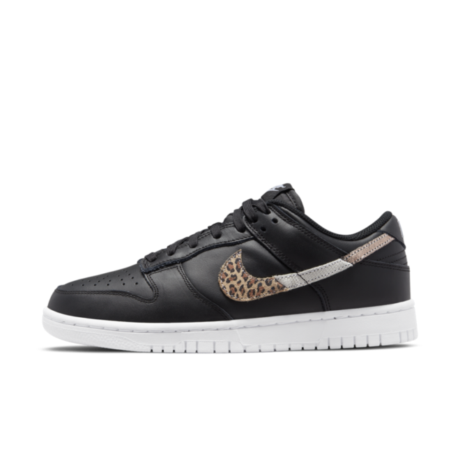 Nike WMNS Dunk Low SE 'Black' -  Animal Swoosh