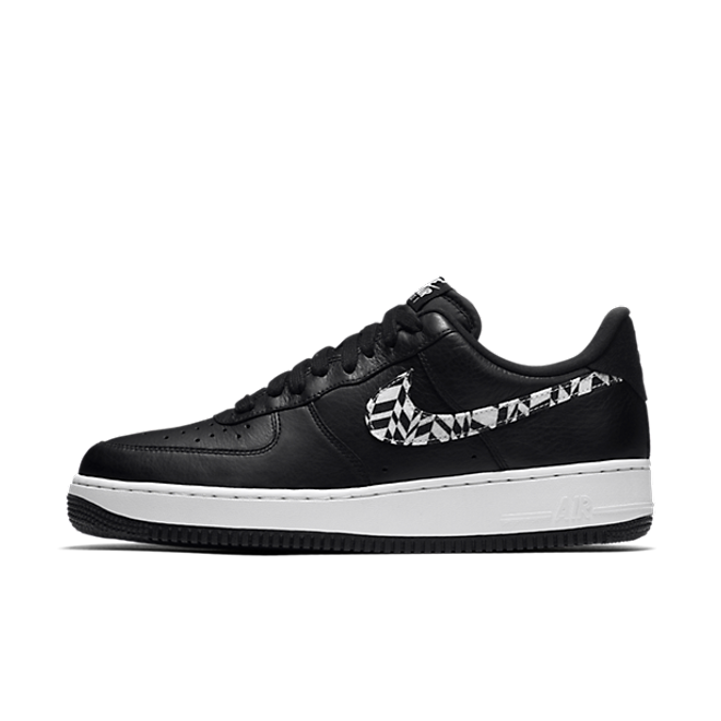 Nike Air Force 1 Funky Pattern 'Black'