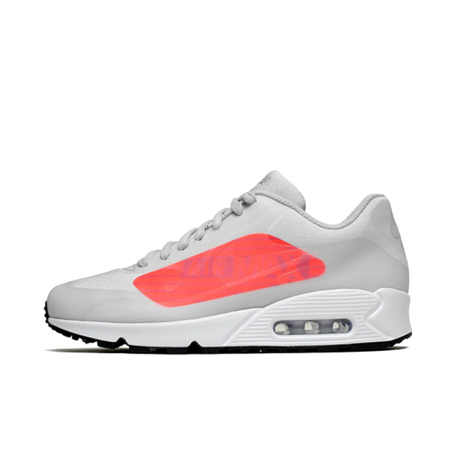 "Nike Air Max 90 Big Logo ""Neutral Grey/Light Crimson"""