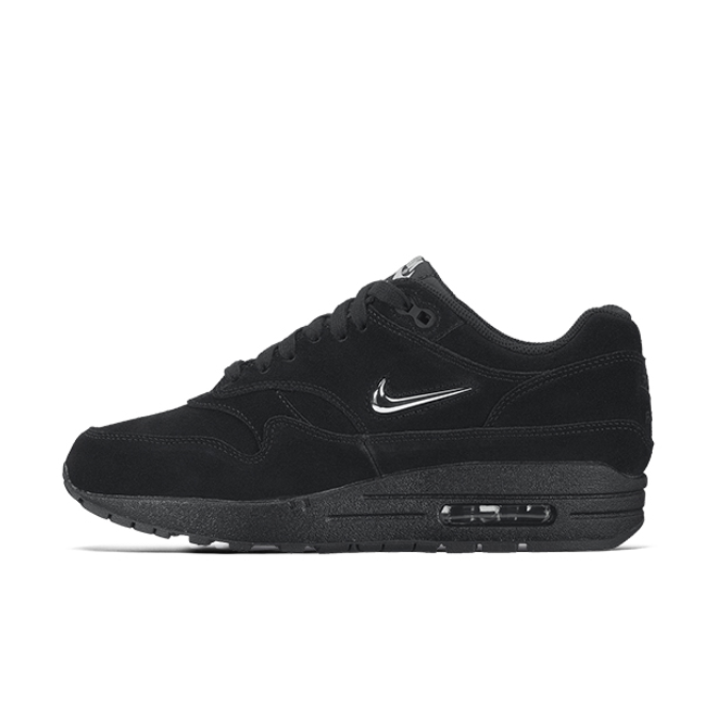 Nike Wmns Air Max 1 Premium Black/Metallic Silver