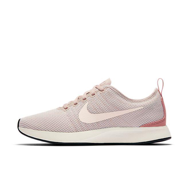 "Nike Dualtone Racer ""Silt Red"" zijaanzicht"